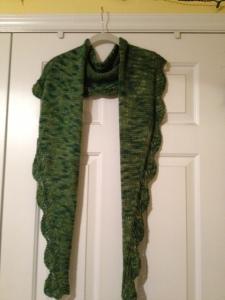 MR scarf done